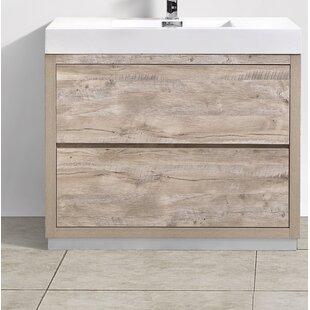 Great Price Malakai 40 Single Bathroom Vanity ByWade Logan