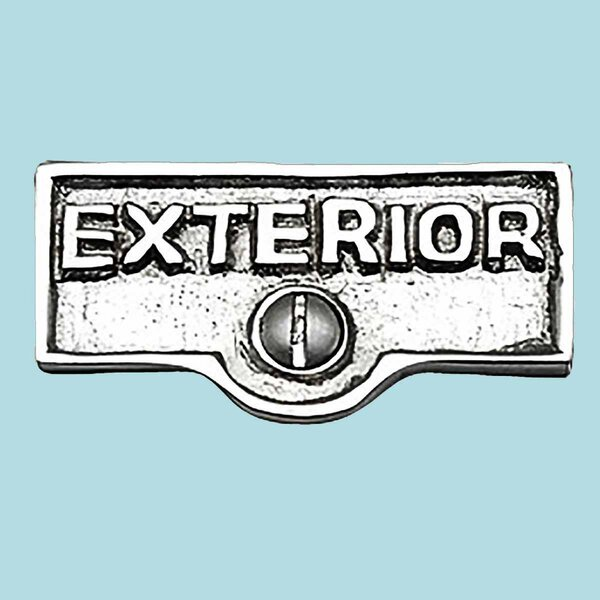 The Renovators Supply Inc Exterior Name Signs Labels Switch Plate Tag Wayfair