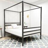 Alfie-George Canopy Platform Bed by Ebern Designs