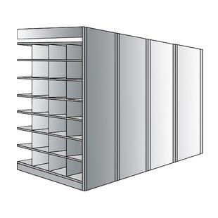 Deep Bin 87 H 8 Shelf Shelving Unit Add-on by Hallowell