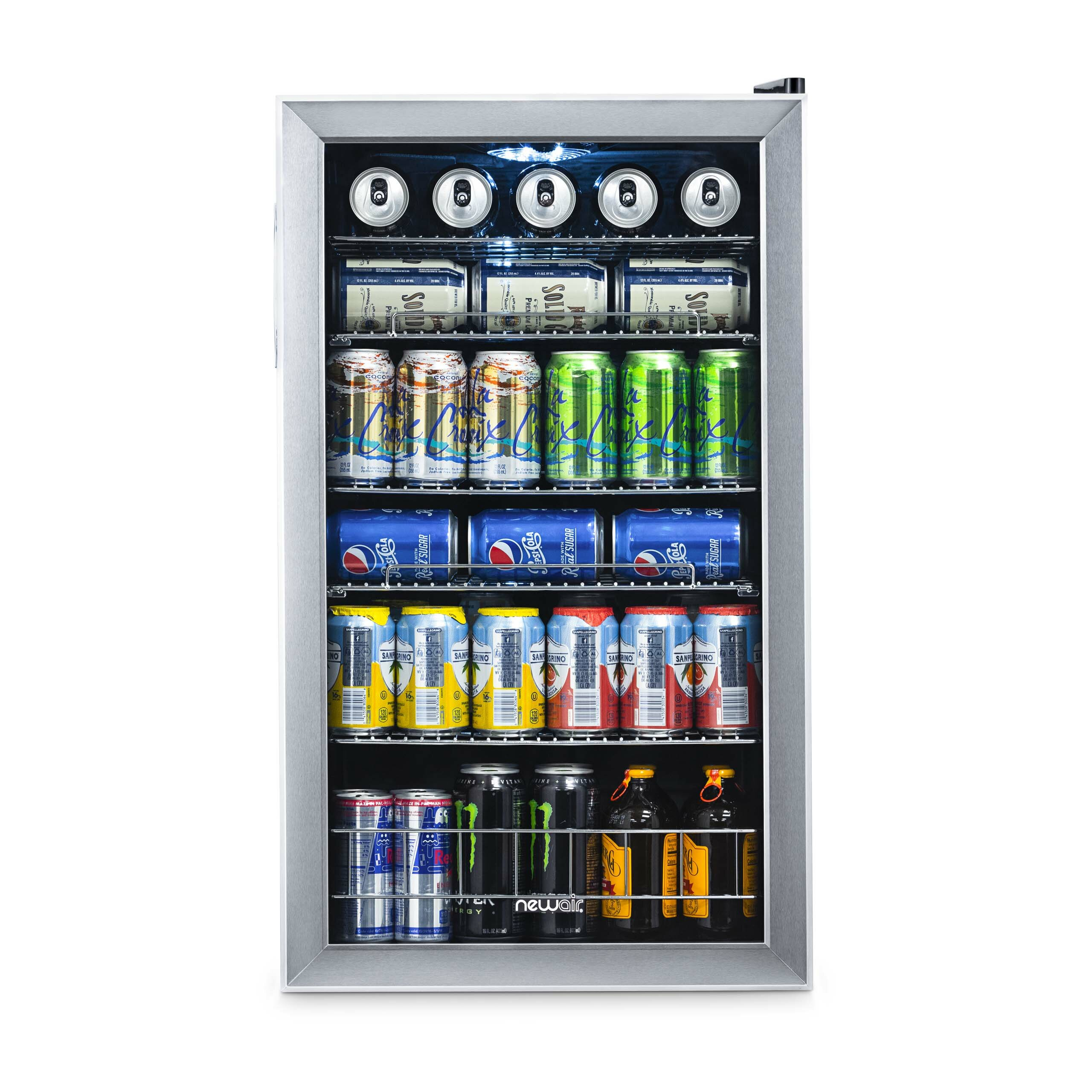 Newair 126 Can Freestanding Beverage Refrigerator Reviews Wayfair