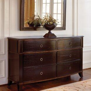 Metropolitan 6 Drawer Double Dresser by Brownstone Furniture