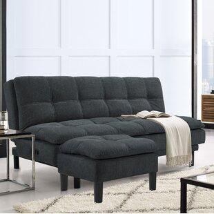 Serta Futons Myers Convertible Sofa with Ottoman