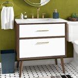 Joel 36'' Single Bathroom Vanity Set by George Oliver