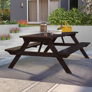 Leuchte Wooden Picnic Table