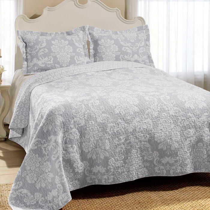 Venetia Cotton Reversible Quilt Set By Laura Ashley Home