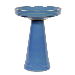 Birds Choice Burley Clay's Bellflower Birdbath
