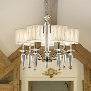 Rosdorf Park Roni 7-Light Shaded Chandelier