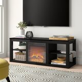 Rickard TV Stand for TVs up to 65 with Fireplace Included by Zipcode Design™
