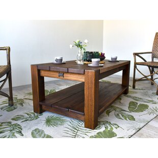 Cerny Rustic Coffee Table By Union Rustic