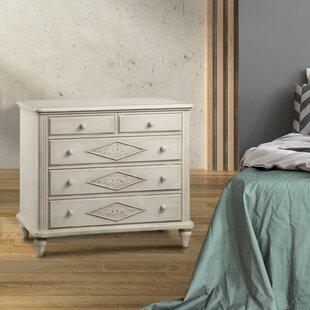 One Allium Way Rockwell 5 Drawer Dresser