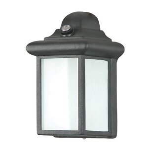 Winston Porter Devitt 1-Light Outdoor Flush Mount