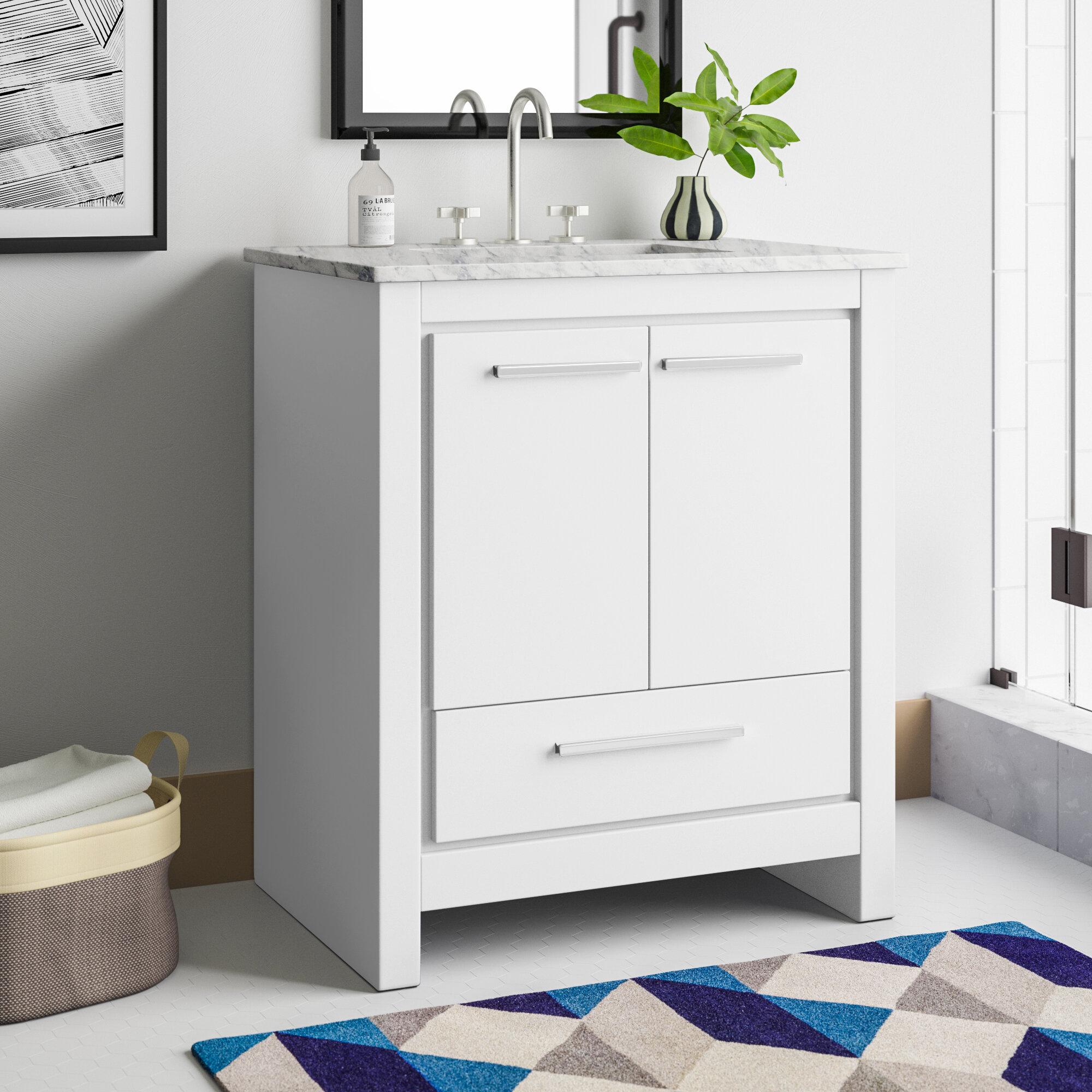 """Broadview 8"""" Single Bathroom Vanity Set"""