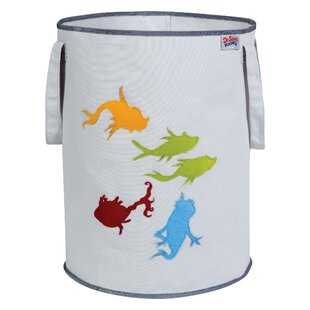 Affordable Dr. Seuss One Fish Two Fish Fabric Storage Bin ByTrend Lab