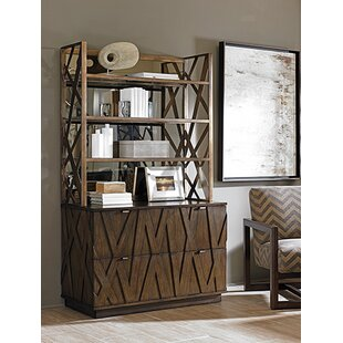 Cross Effect Standard Bookcase