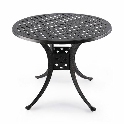 Mcdaniels Aluminum Dining Table by Astoria Grand Best