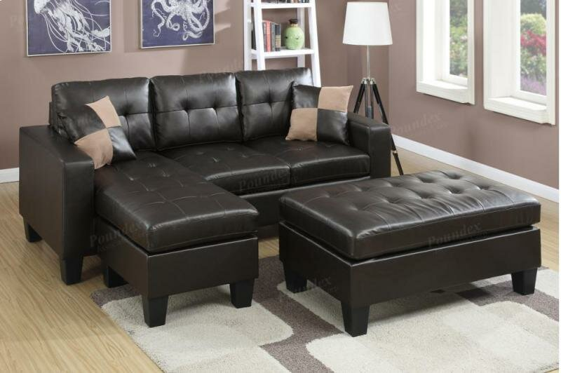 Admirable Michaud Reversible Sectional With Ottoman Andrewgaddart Wooden Chair Designs For Living Room Andrewgaddartcom