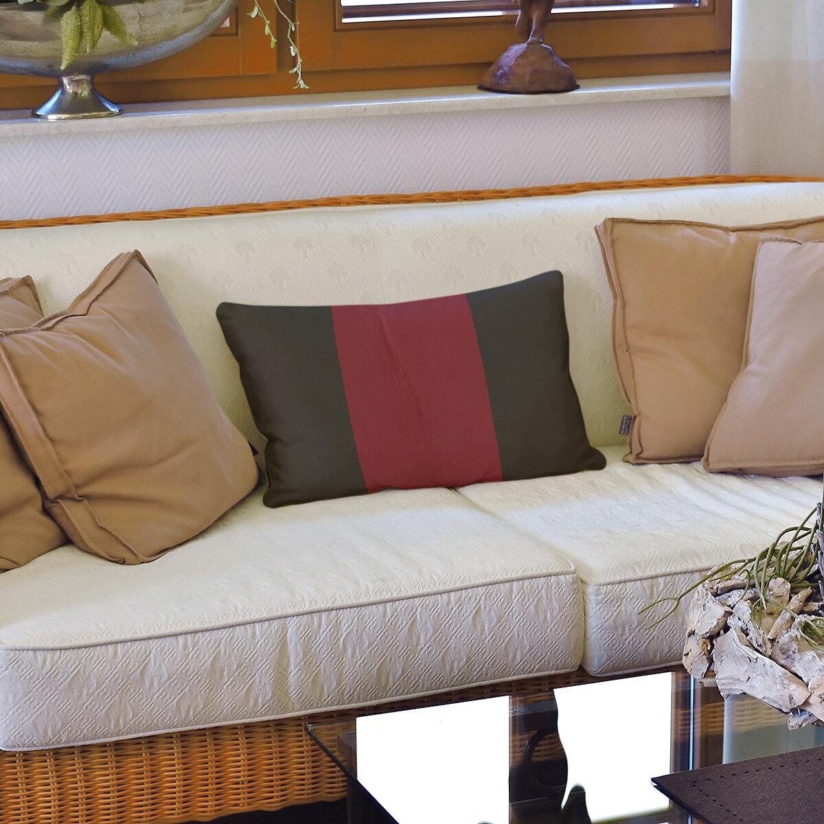 East Urban Home Arizona Hockey Striped Lumbar Pillow Wayfair