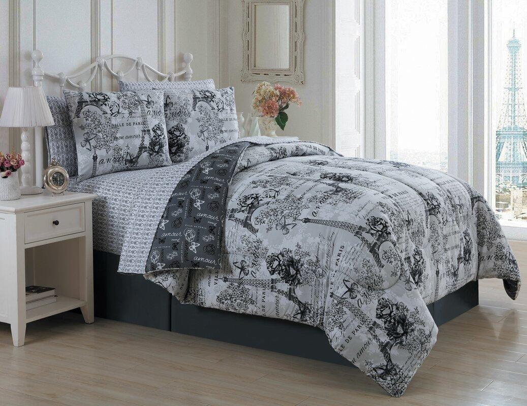 Charlton Home Marco Reversible Comforter Set