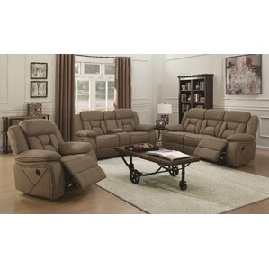 Latitude Run Tien Reclining Motion Loveseat with Console Image