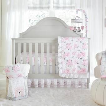 8e600b5b696a9 Harriet Bee Donaway Happy Enchanted Birds 6 Piece Baby Girl Nursery ...