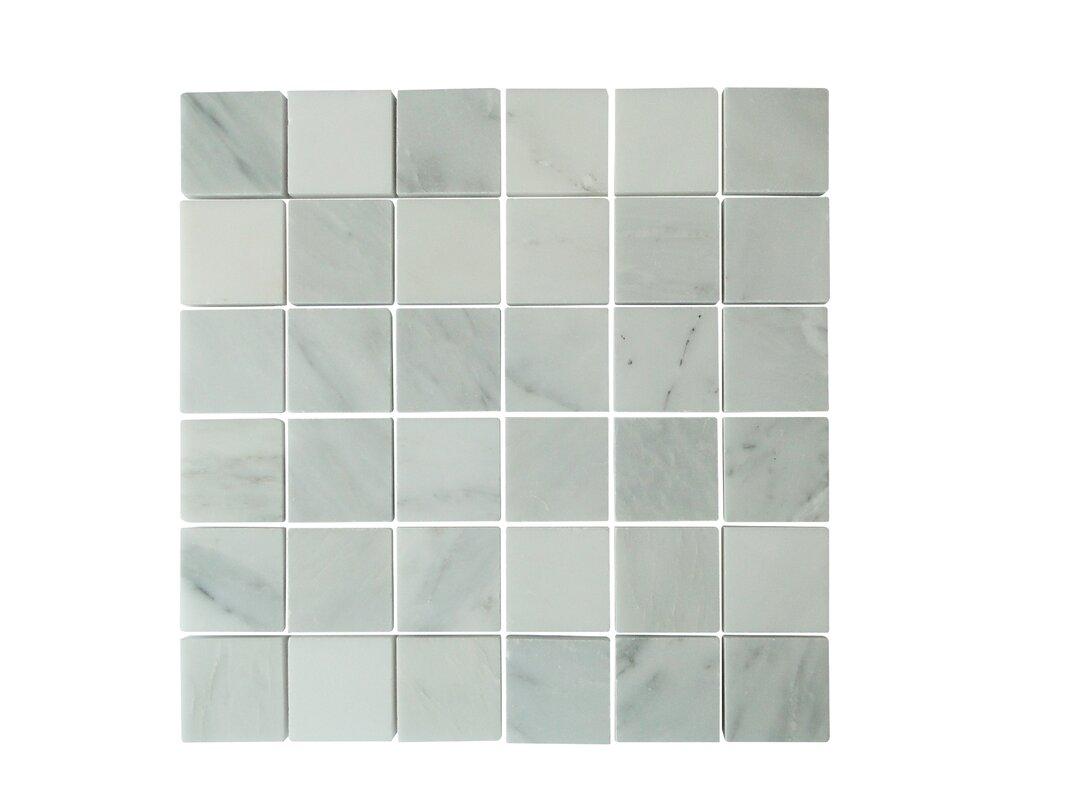 Ws tiles 2 x 2 marble mosaic tile in oriental white reviews 2 x 2 marble mosaic tile in oriental white dailygadgetfo Gallery