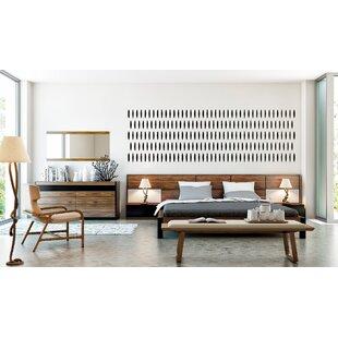 Cooke Queen Platform 5 Piece Bedroom Set
