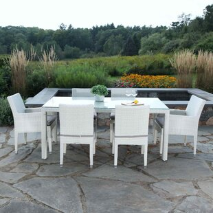 Cypress 7 Piece Dining Set with Cushions