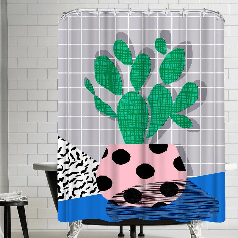 East Urban Home Wacka Designs Iffy Single Shower Curtain Wayfair