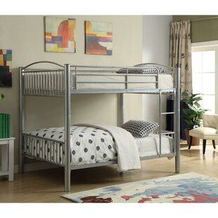 Check Prices Staffordshire Full Over Full Bunk Bed by Harriet Bee Reviews (2019) & Buyer's Guide