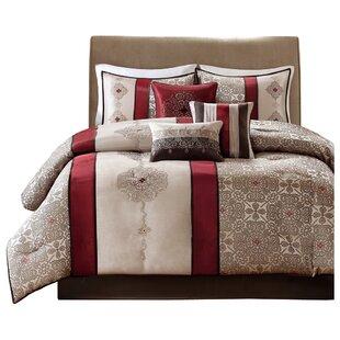 Andover Mills Raposo 7 Piece Comforter Set