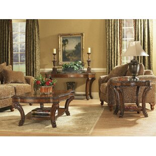 Brussels Rectangular Coffee Table Set Astoria Grand