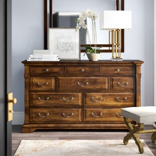 Tynecastle 10 Drawer Double Dresser