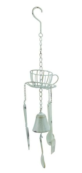 Darice Cafe Themed Hanging Outdoor Garden Wind Chime