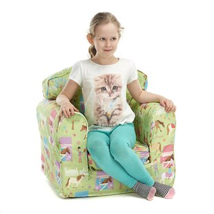 Fetters Animal Camp Children's Club Chair By Zoomie Kids