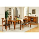 Chiricahua Extendable Solid Wood Dining Table by Loon Peak®