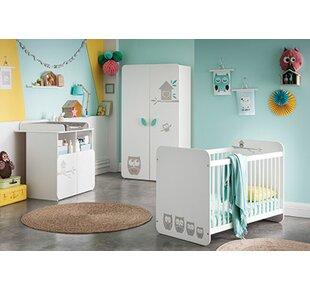 Hiboux 3 Piece Nursery Furniture Set