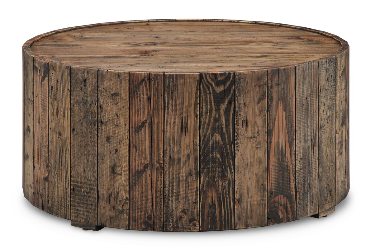 Round Coffee Tables loon peak antonio round coffee table & reviews | wayfair