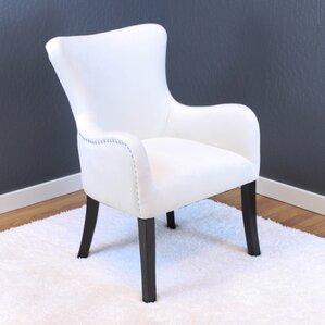 Charming Kaat Velvet Wingback Chair