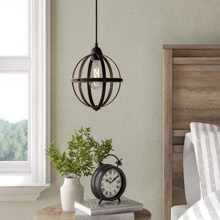 Genna 1-Light Globe Pendant