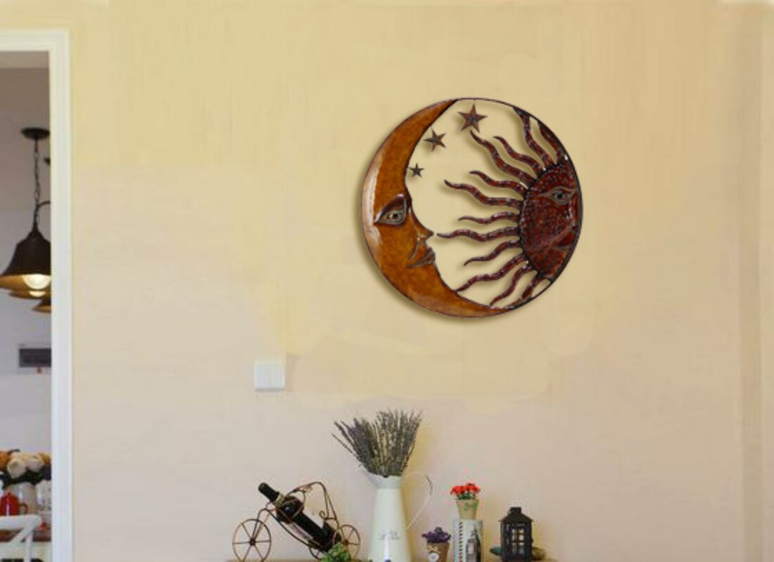 Awesome Moon Wall Decor Image Collection - Art & Wall Decor ...