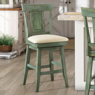 Colasanto 24 Swivel Bar Stool August Grove