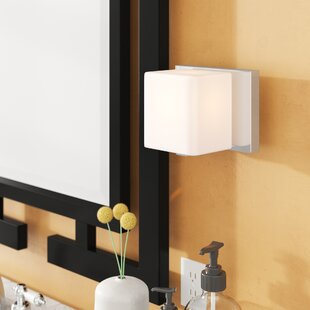 Arham 1-Light Bath Sconce by W..