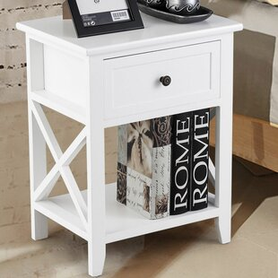 Buddy 1 Drawer Nightstand (Set of 2) by Highland Dunes
