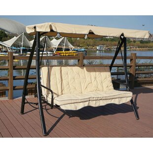 Charlton Home Kemble Porch Swing with Stand