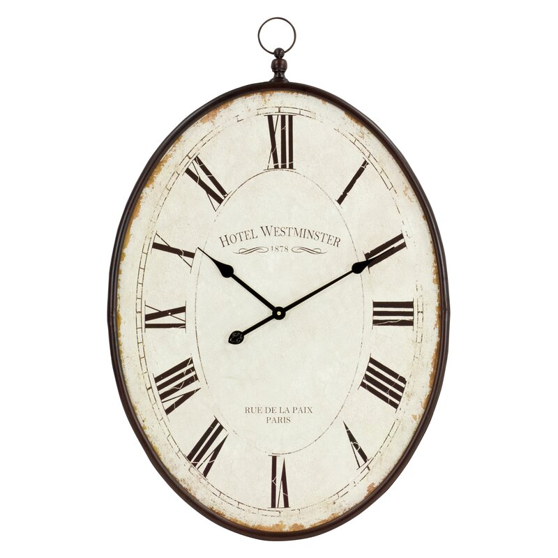 "Oversized Immanuel 36"" Wall Clock"