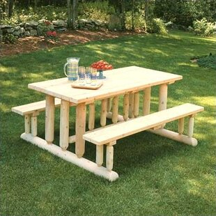 Deluxe Cedar Picnic Table