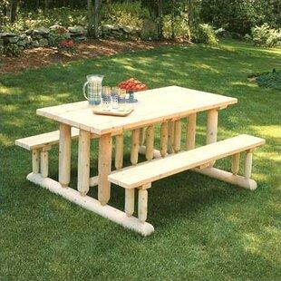 Deluxe Cedar Picnic Table