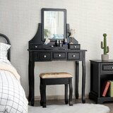 Quintero Vanity Set with Mirror by House of Hampton®