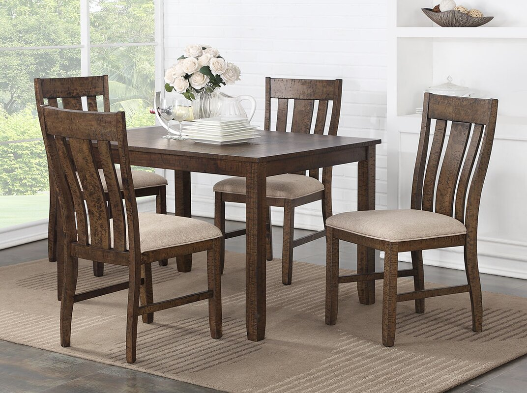 High Quality Daysi 5 Piece Breakfast Nook Dining Set